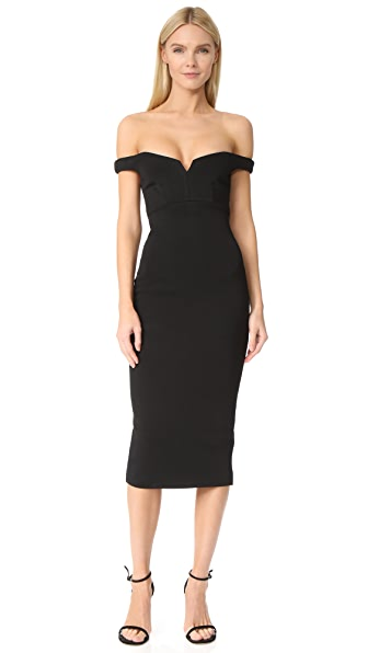 Cinq a Sept Garnet Dress In Black
