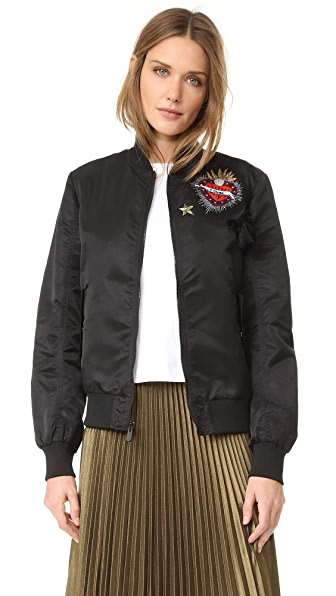 Cinq a Sept Je T'Aime Personalized Bomber