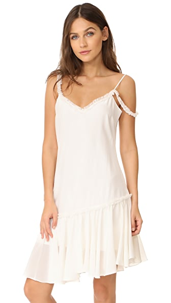 Cinq a Sept Castiel Dress In Ivory