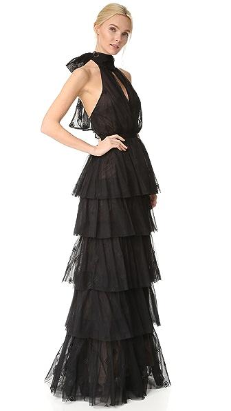 Cinq a Sept Harmonia Gown - Black