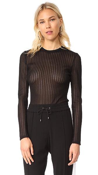 Cinq a Sept Paige Bodysuit - Black