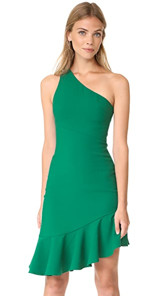 Cinq a Sept Stella Dress In Evergreen