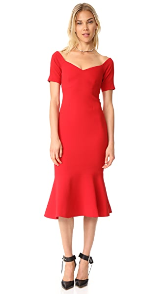Cinq a Sept Marta Dress - Carmine