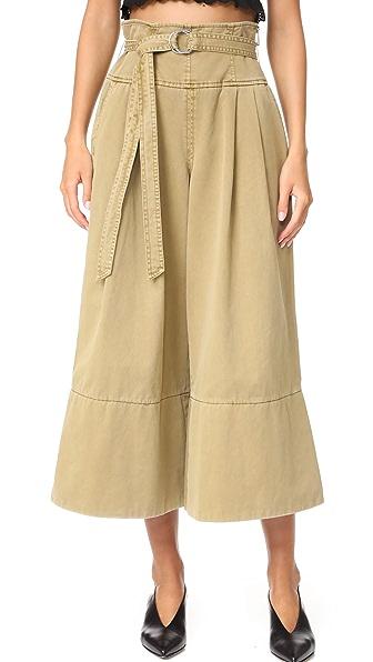 Cinq a Sept Sandy Pants In Khaki