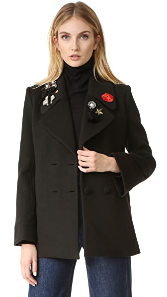 Cinq a Sept Opehlia Jacket In Black