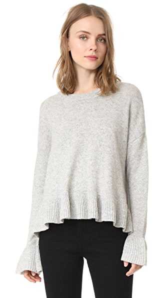 Cinq a Sept Seren Pullover - Light Grey