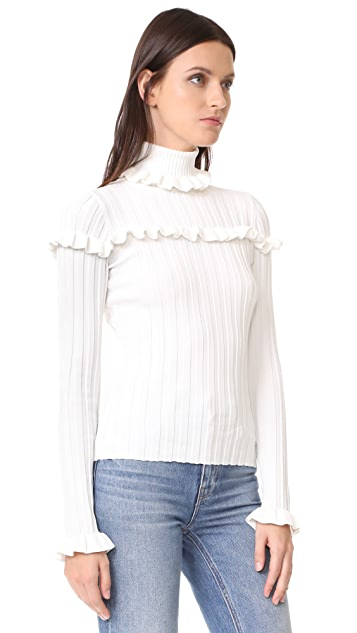 Cinq a Sept Tate Rib Sweater