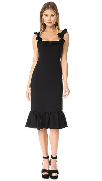 Cinq a Sept Opalina Dress In Black