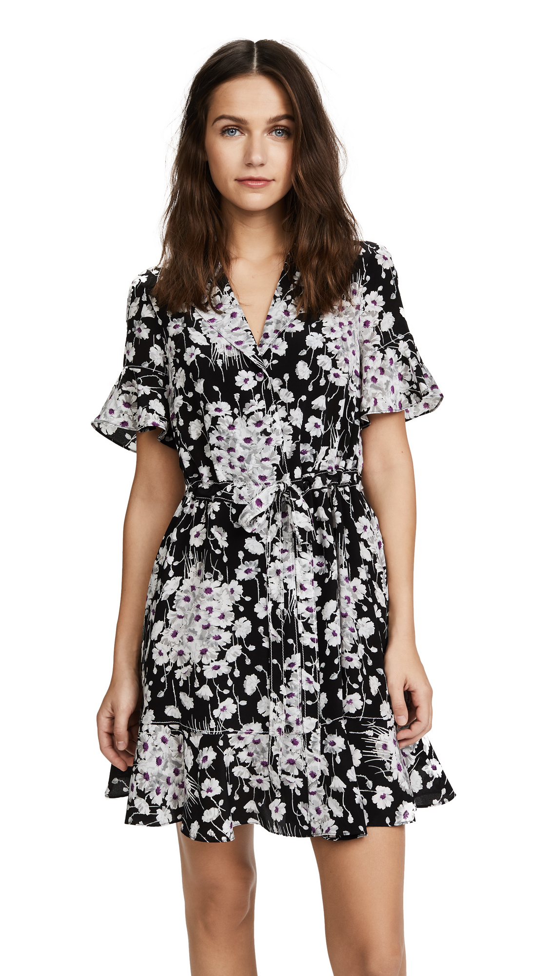 Cinq a Sept Arabella Dress - Black Multi