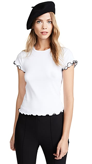 Cinq a Sept Colbey Baby Tee