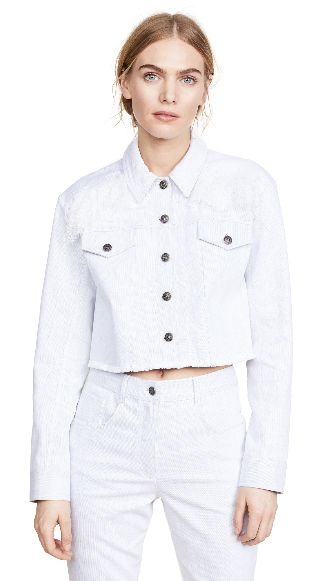 Cinq a Sept Ismay Jacket - White/Ivory