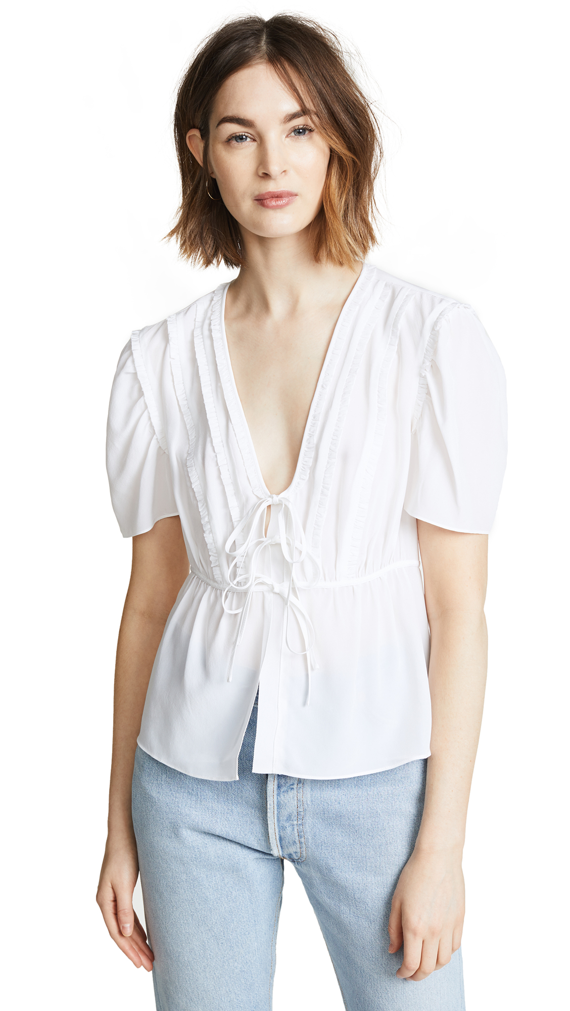 Cinq a Sept Keira Top In Bright Light