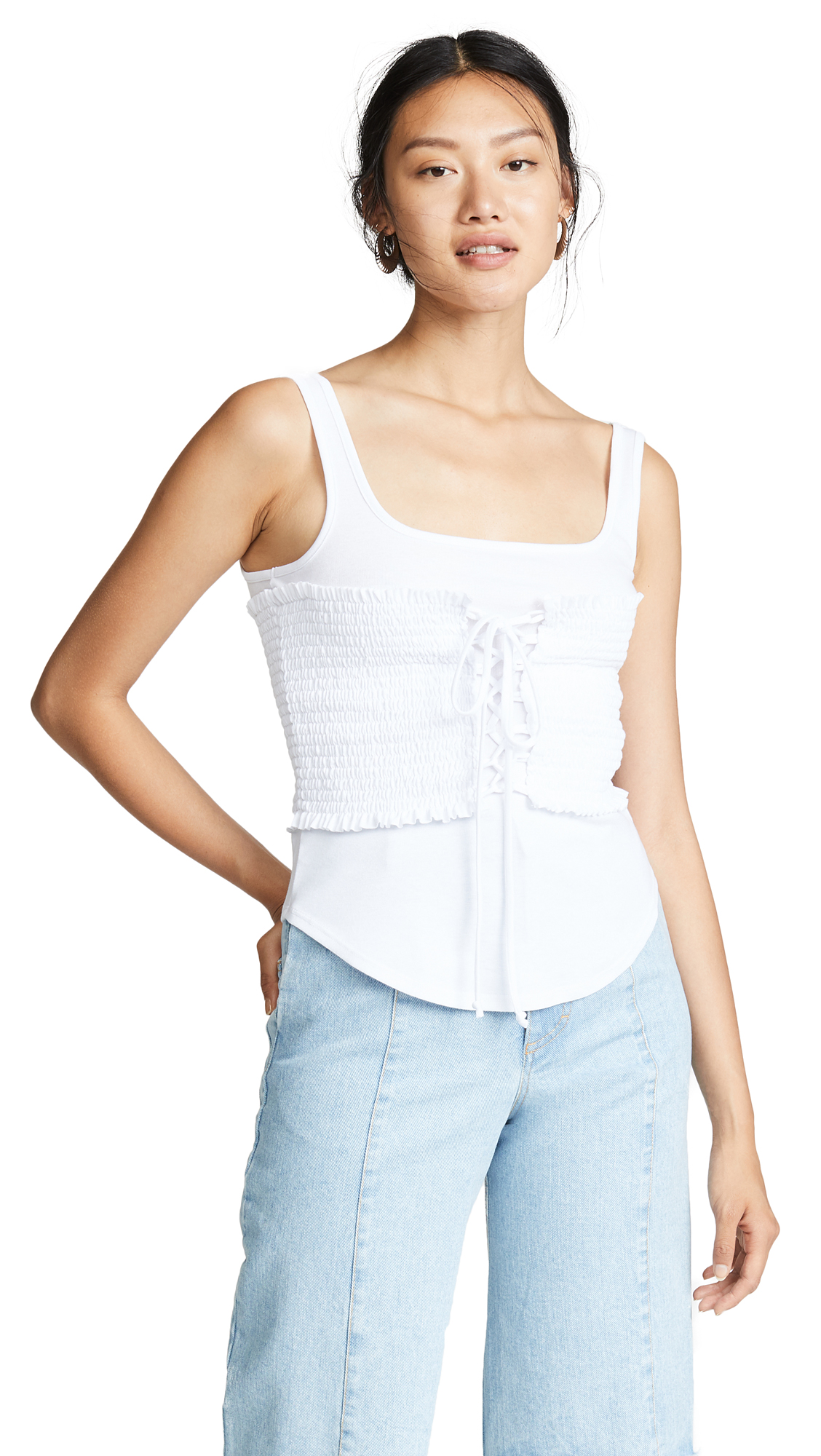 Cinq a Sept Sabine Top In White