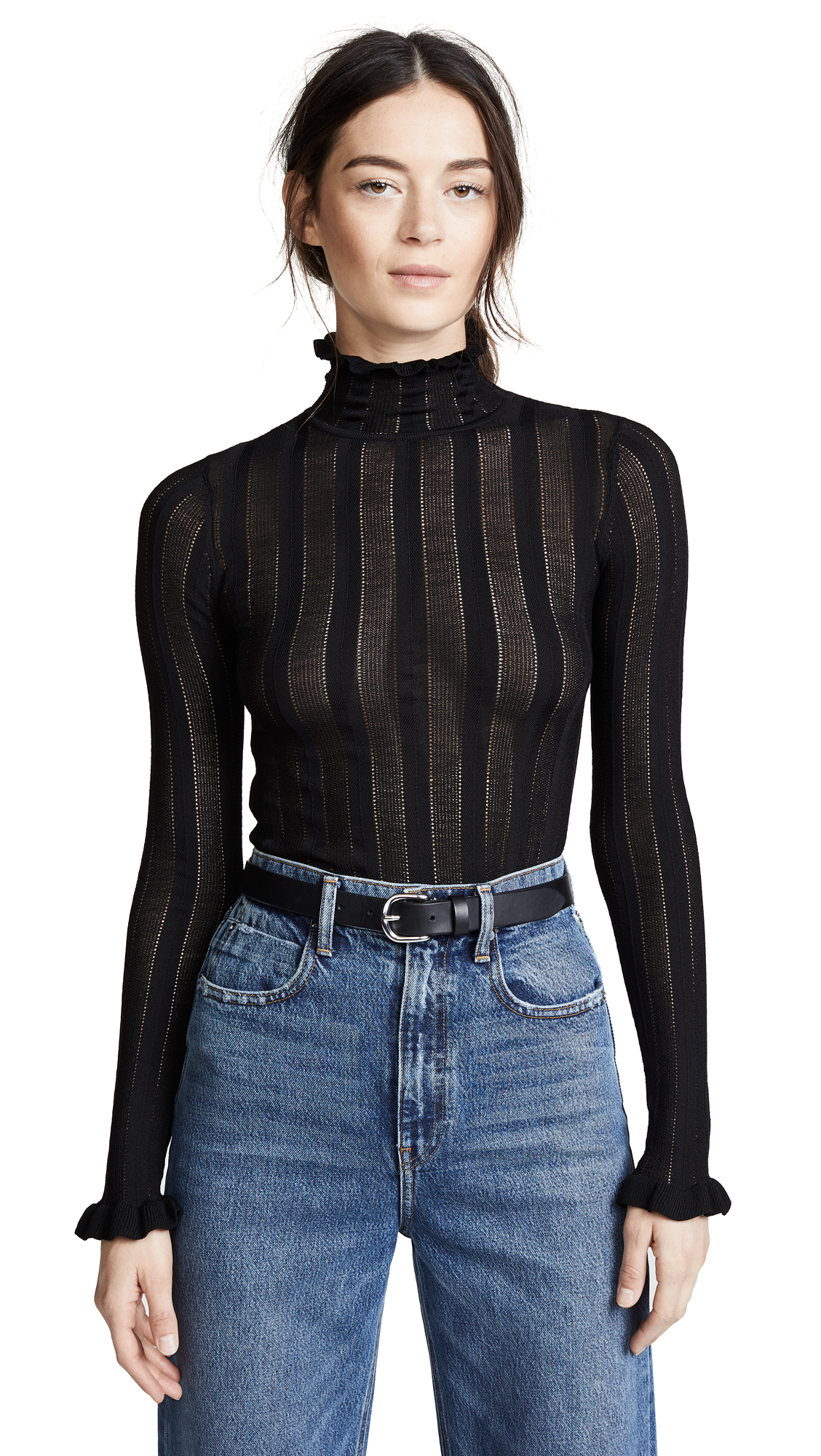 Cinq a Sept Eliana Sweater In Black