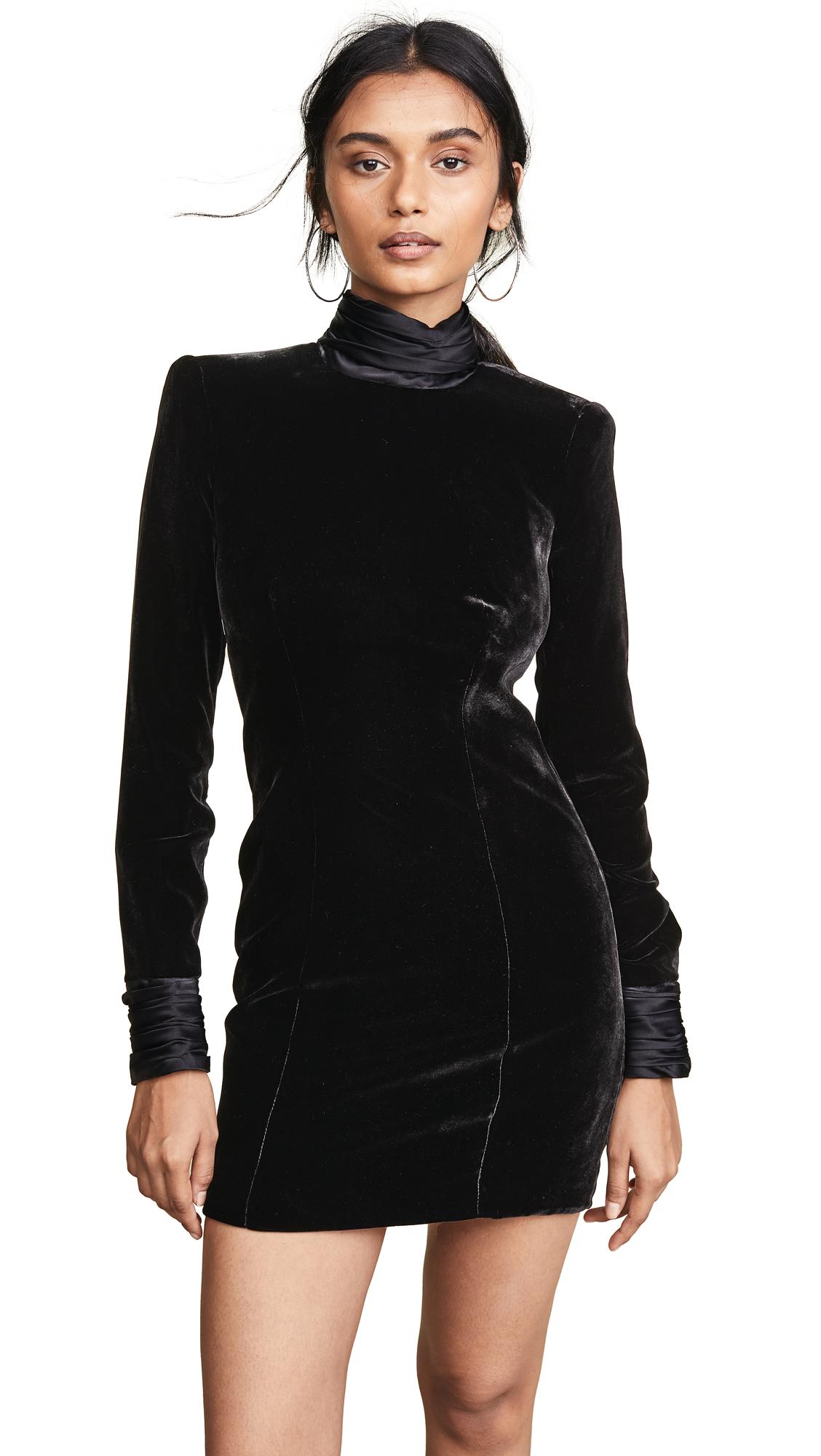 Cinq a Sept Felicity Dress - Black/Black