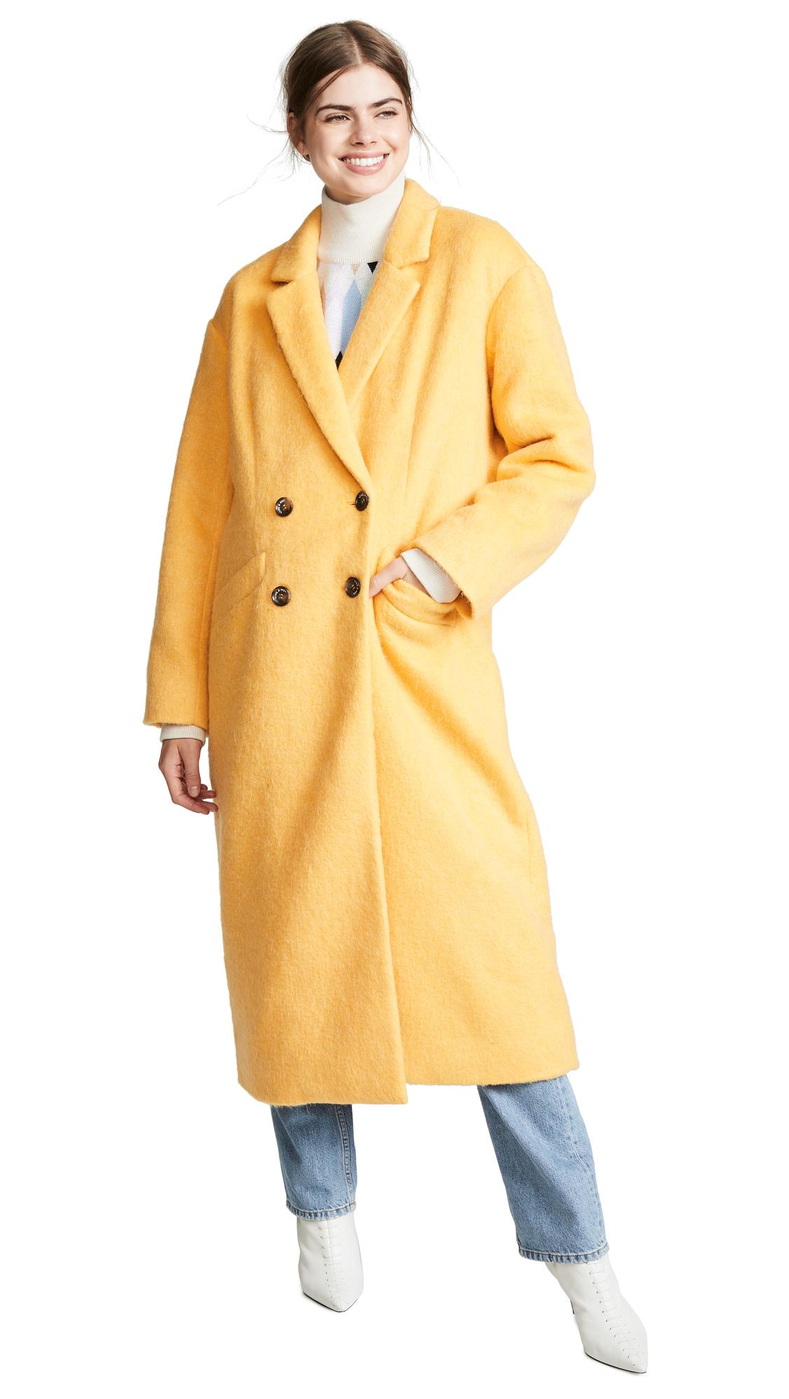 Cinq a Sept Maya Faux Fur Coat