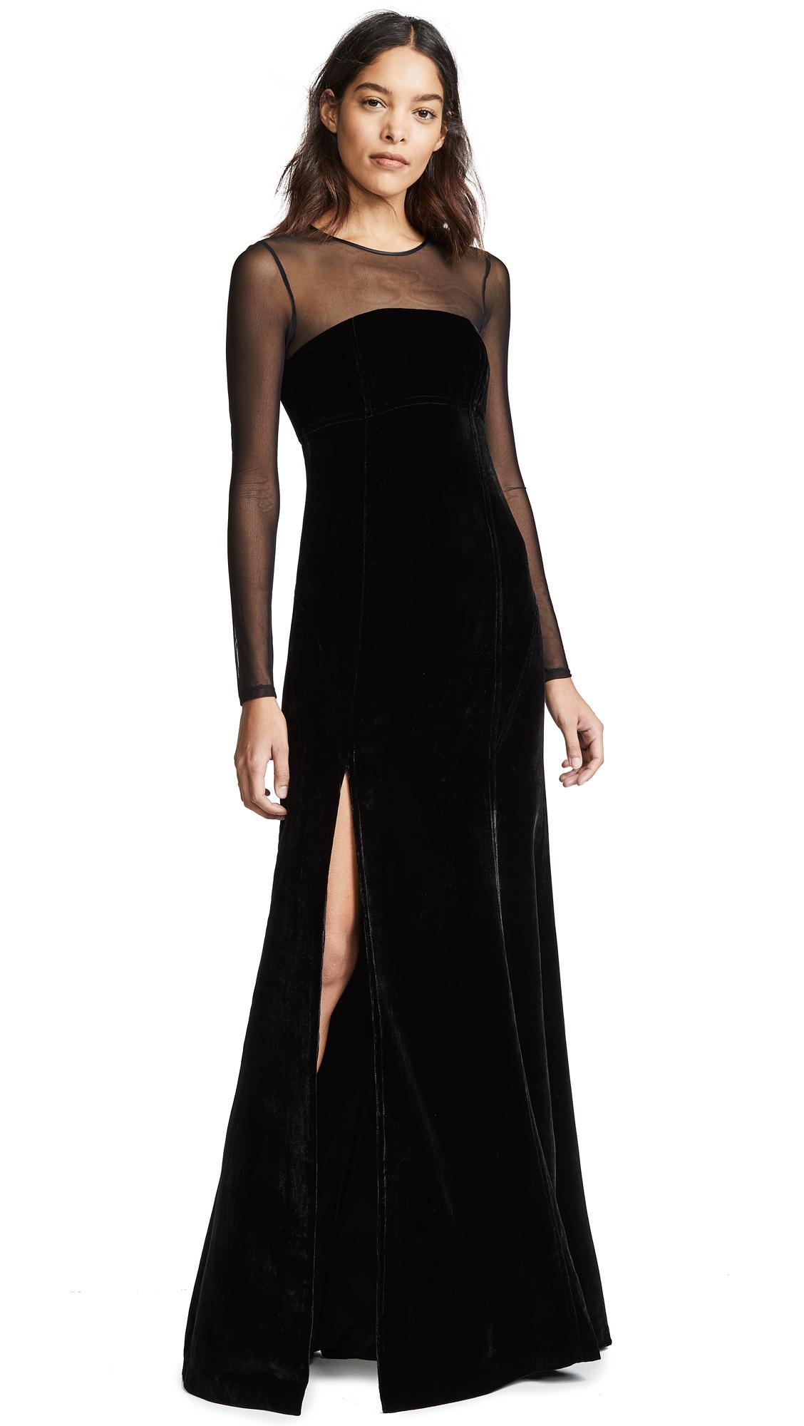 Cinq a Sept Isadora Gown - Black