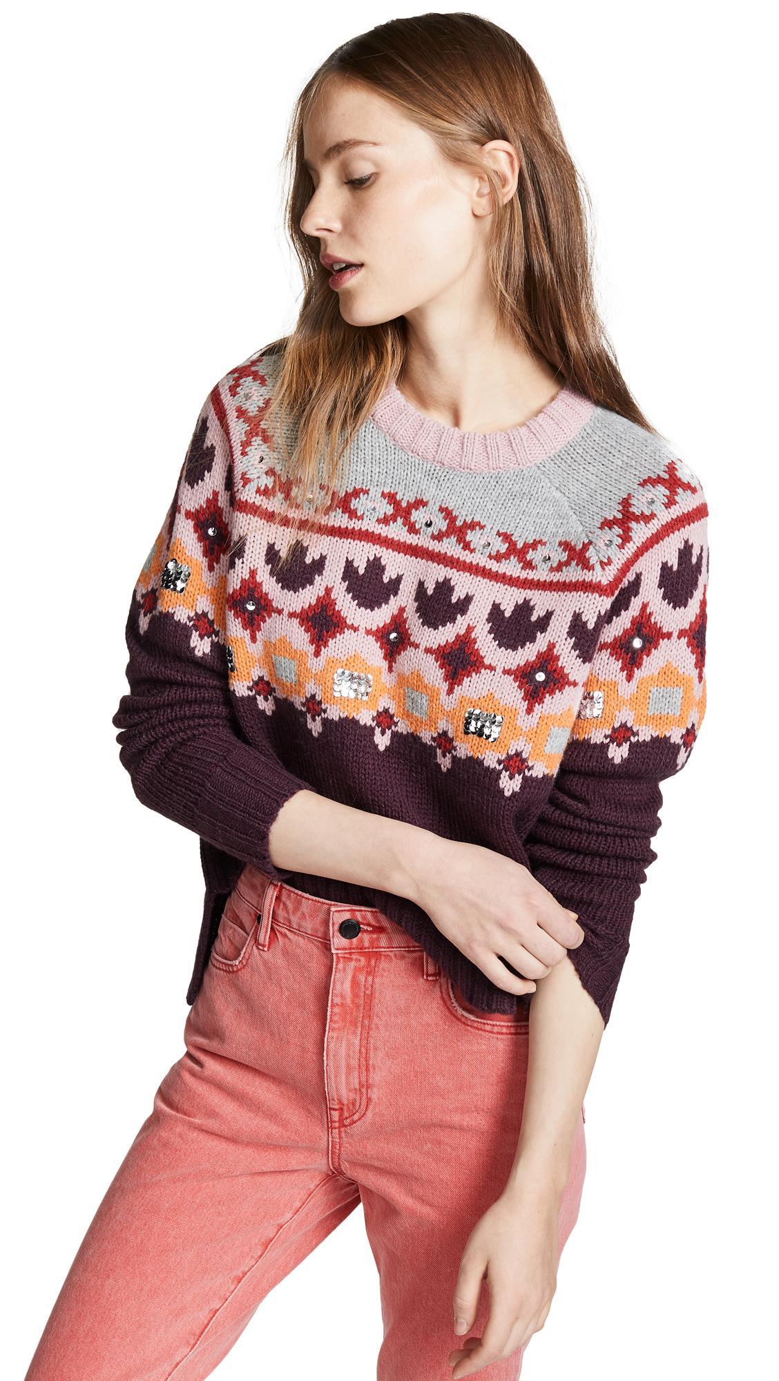 Cinq a Sept Gianni Sweater - Multi