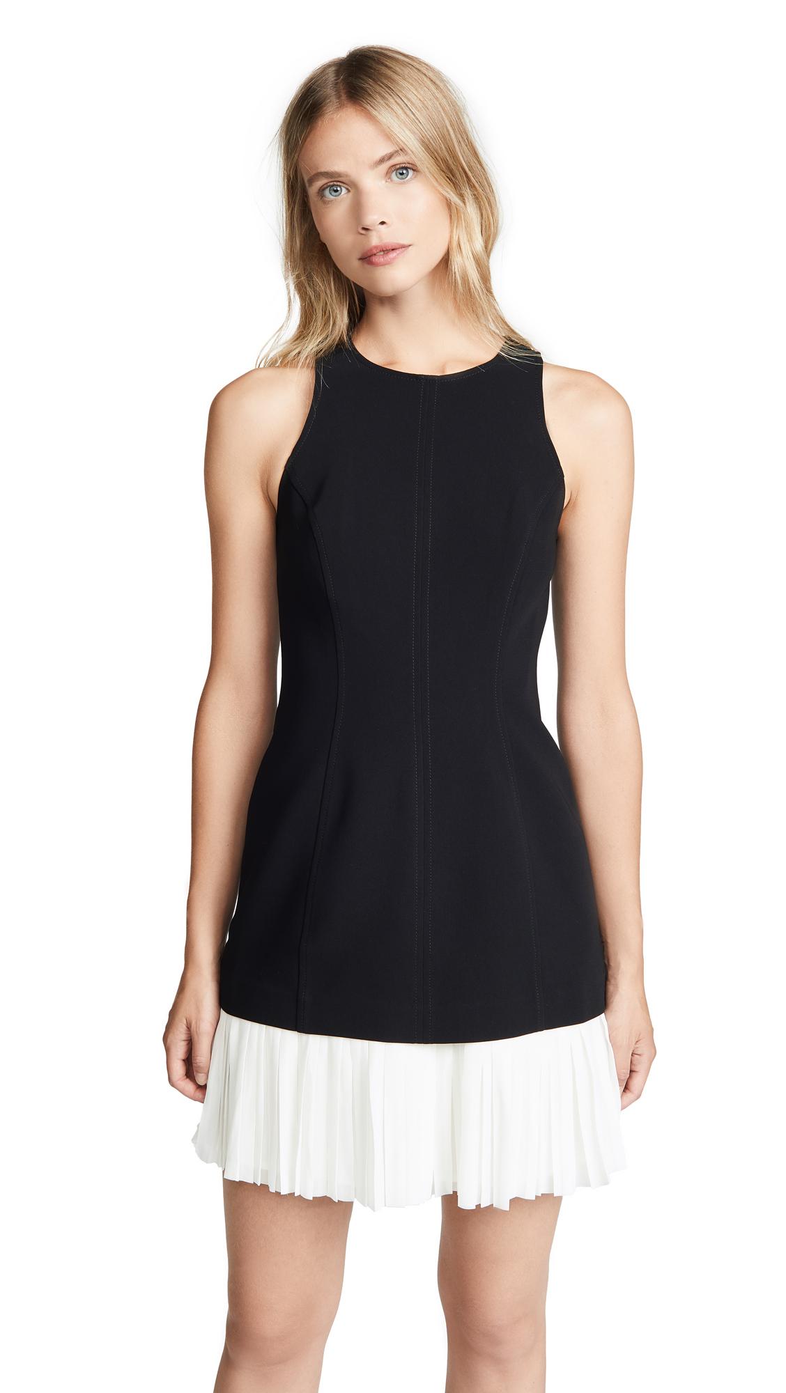 Cinq a Sept Catriona Dress - Black/Ivory