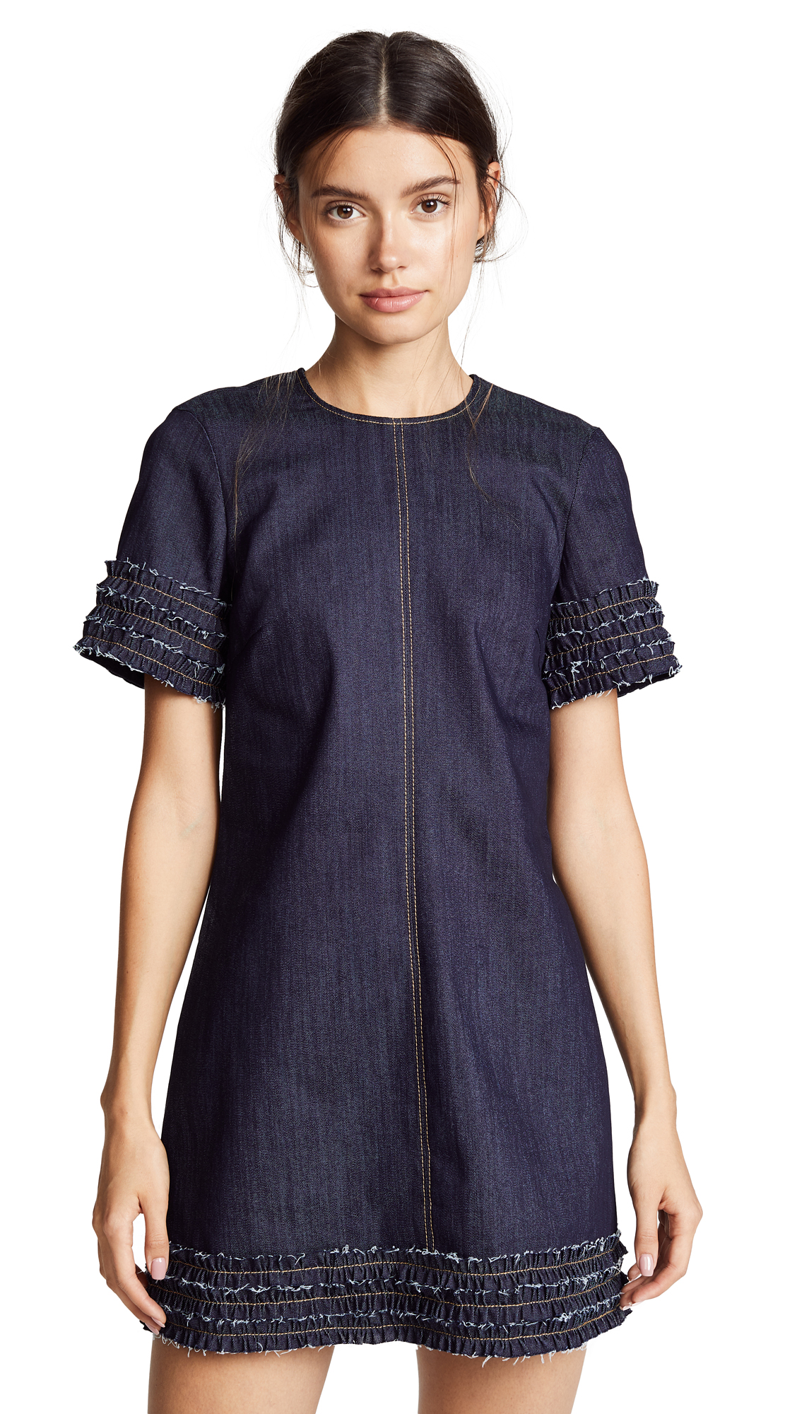 Ashton Denim Dress, Indigo