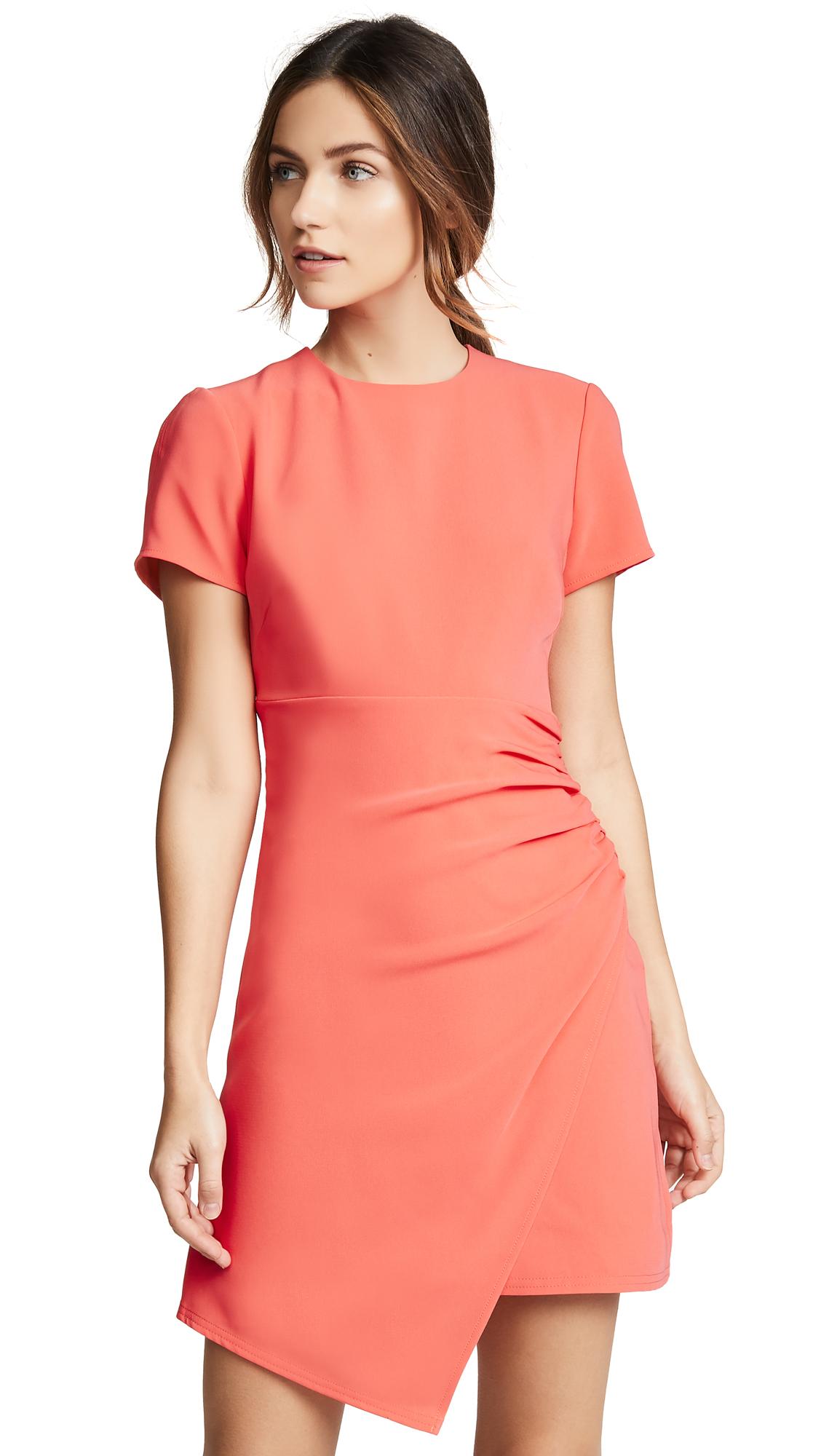Cinq a Sept Imogen Dress - Hot Coral