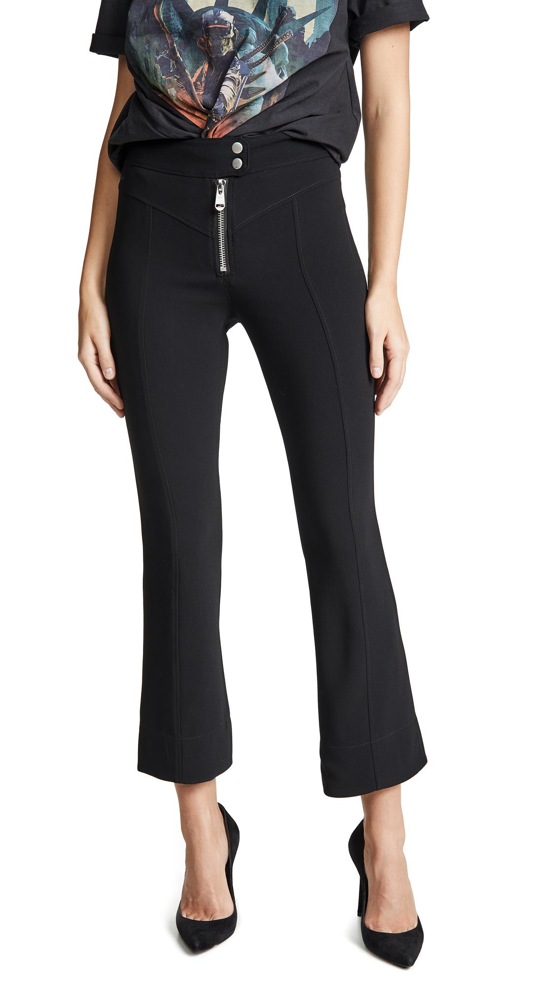 Cinq a Sept Crepe Kirim Pants - Black