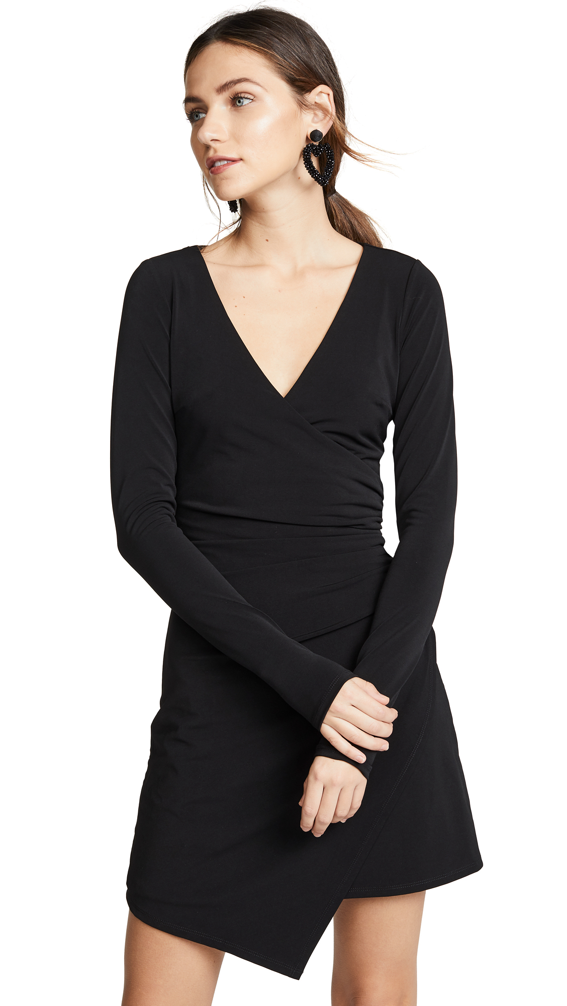 Cinq a Sept Coralie Dress - Black