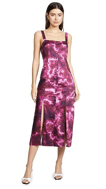 Cinq a Sept Tie Dye Alexa Dress