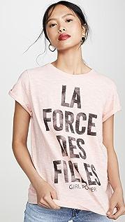 Cinq a Sept Tous Les Jours Girl Power T 恤