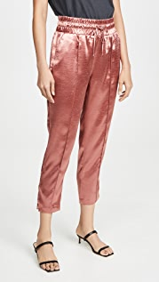 Cinq a Sept Hammered Satin Adalie Pants