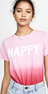 Cinq a Sept Tous Les Jours Dip Dye Happy T 恤