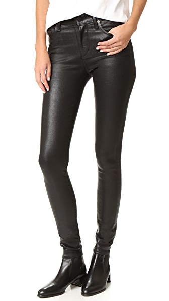 Citizens of Humanity Rocket Leatherette Jeans - Black