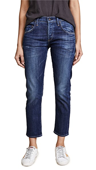 Citizens of Humanity Premium Vintage Emerson Slim BF Jeans In Blue Ridge
