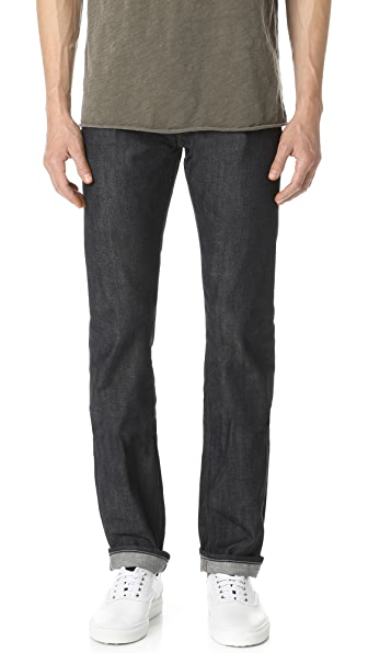 Core Slim Straight Fit Jeans
