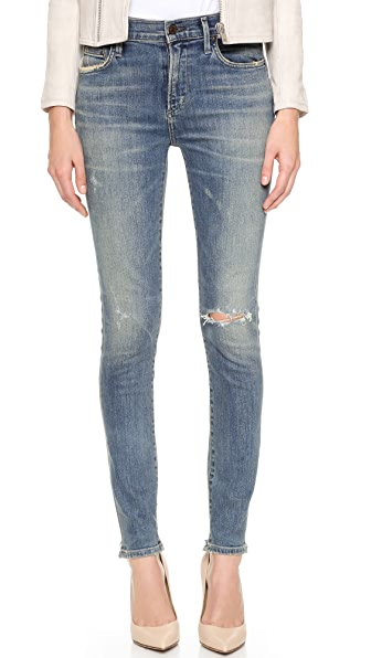 Citizens of Humanity Rocket High Rise Skinny Jeans - Stage Coach