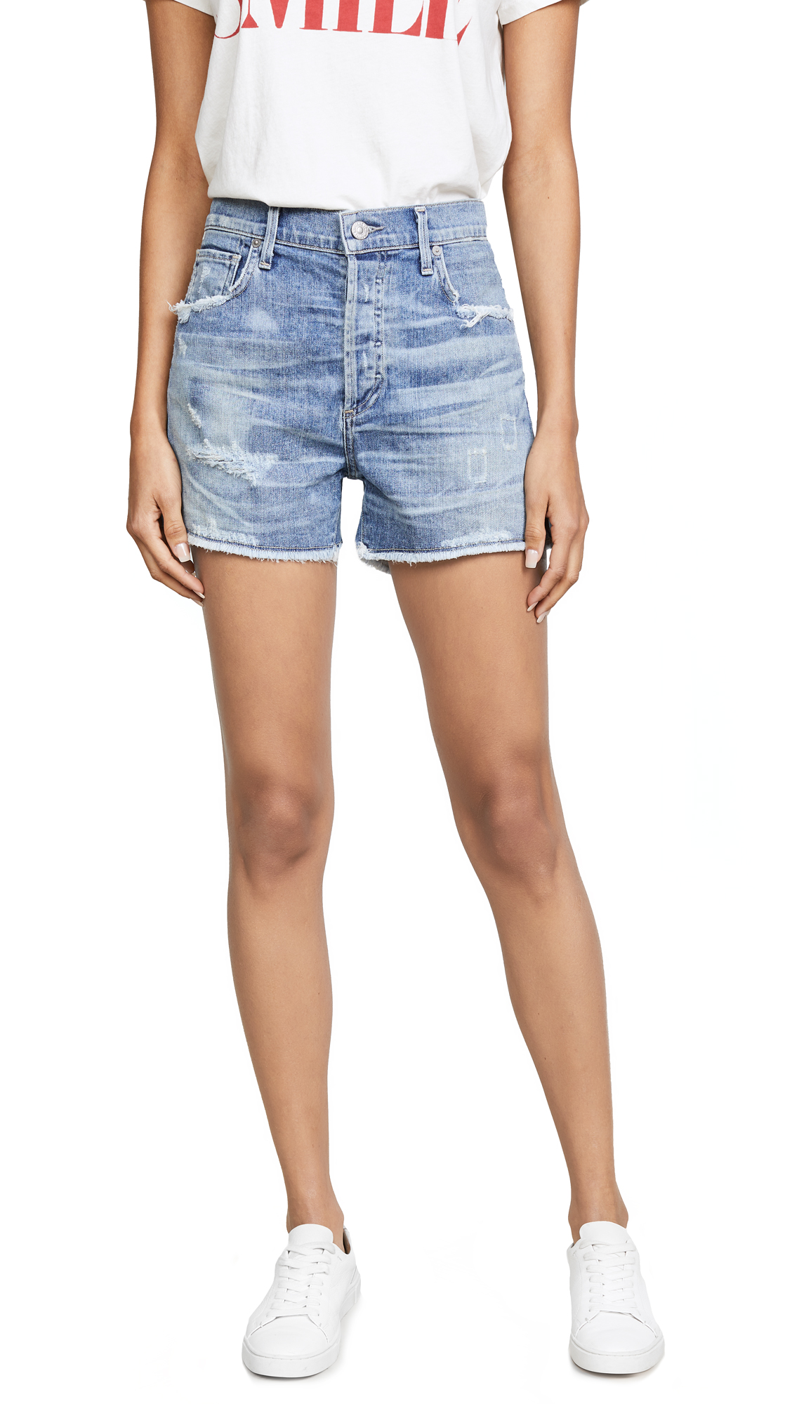 Citizens of Humanity Corey Relaxed Shorts In Skylite