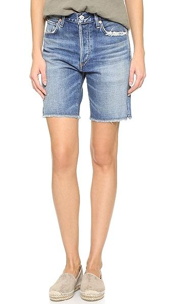 Citizens Of Humanity Liya High Rise Shorts - Fade Out at Shopbop