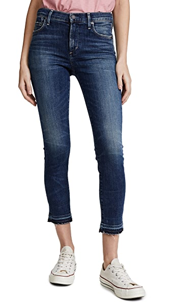 Citizens of Humanity Rocket Crop High Rise Skinny Jeans - Weekend