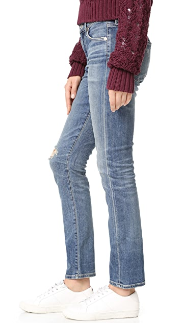 Citizens of Humanity Agnes Mid Rise Slim Straight Jeans