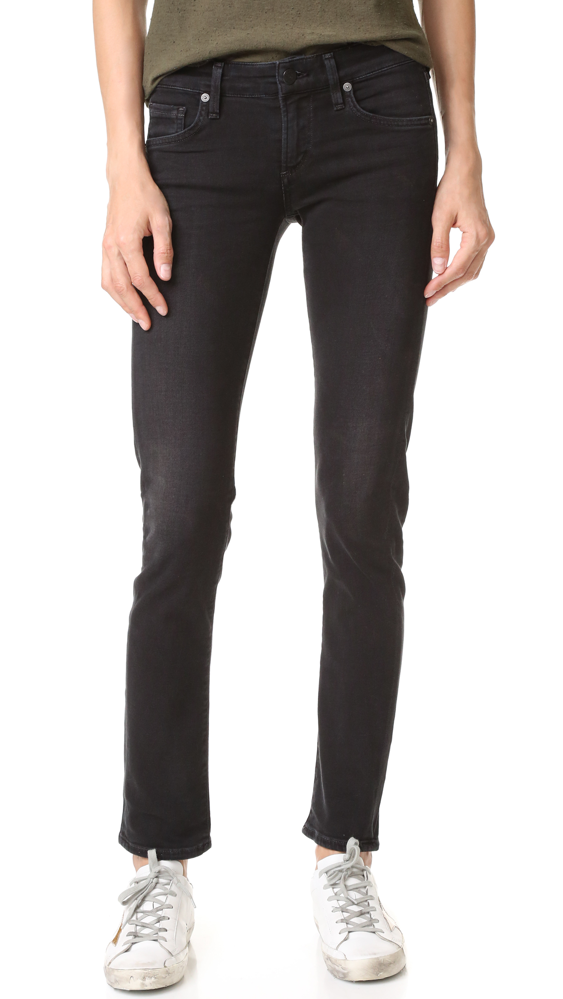 Citizens Of Humanity Racer Low Rise Skinny Jeans - Tempest at Shopbop