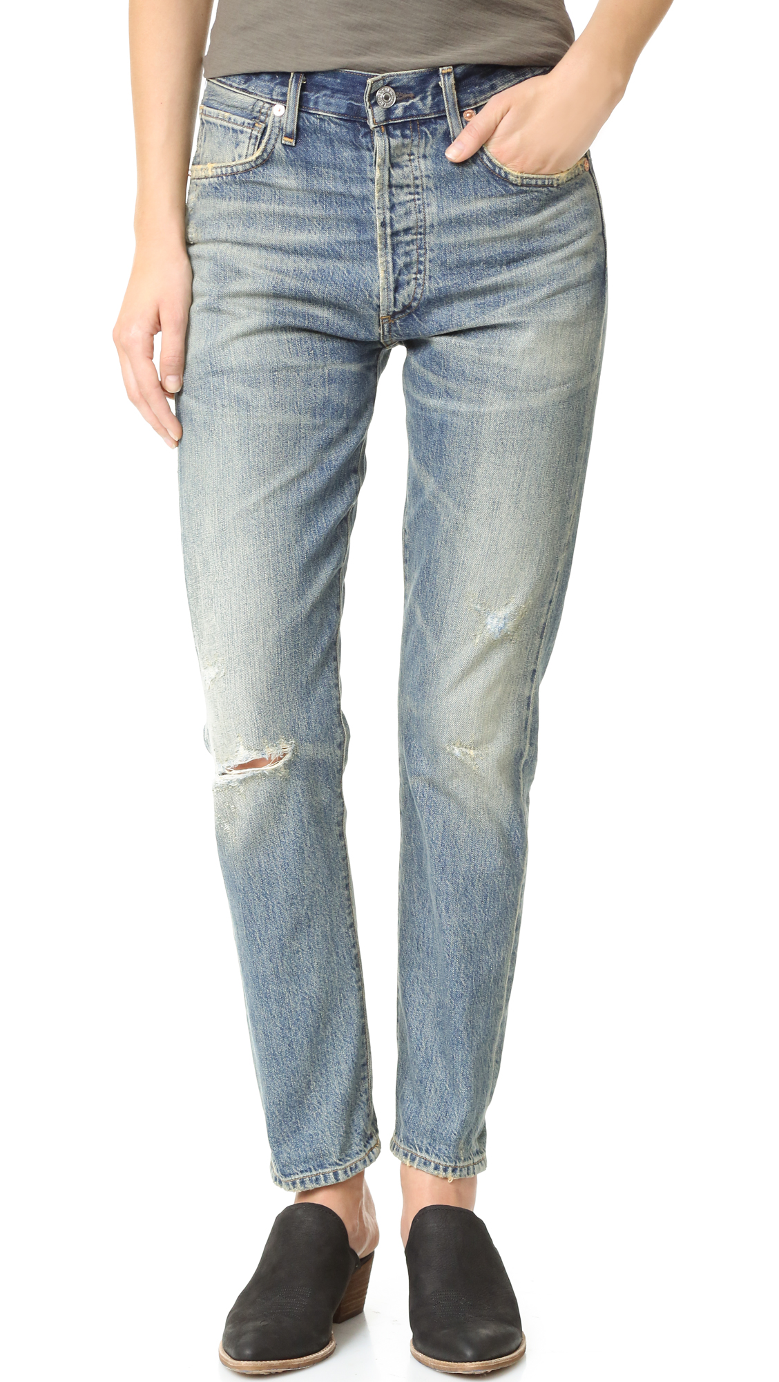 Citizens Of Humanity Liya High Rise Jeans - Greenpoint at Shopbop