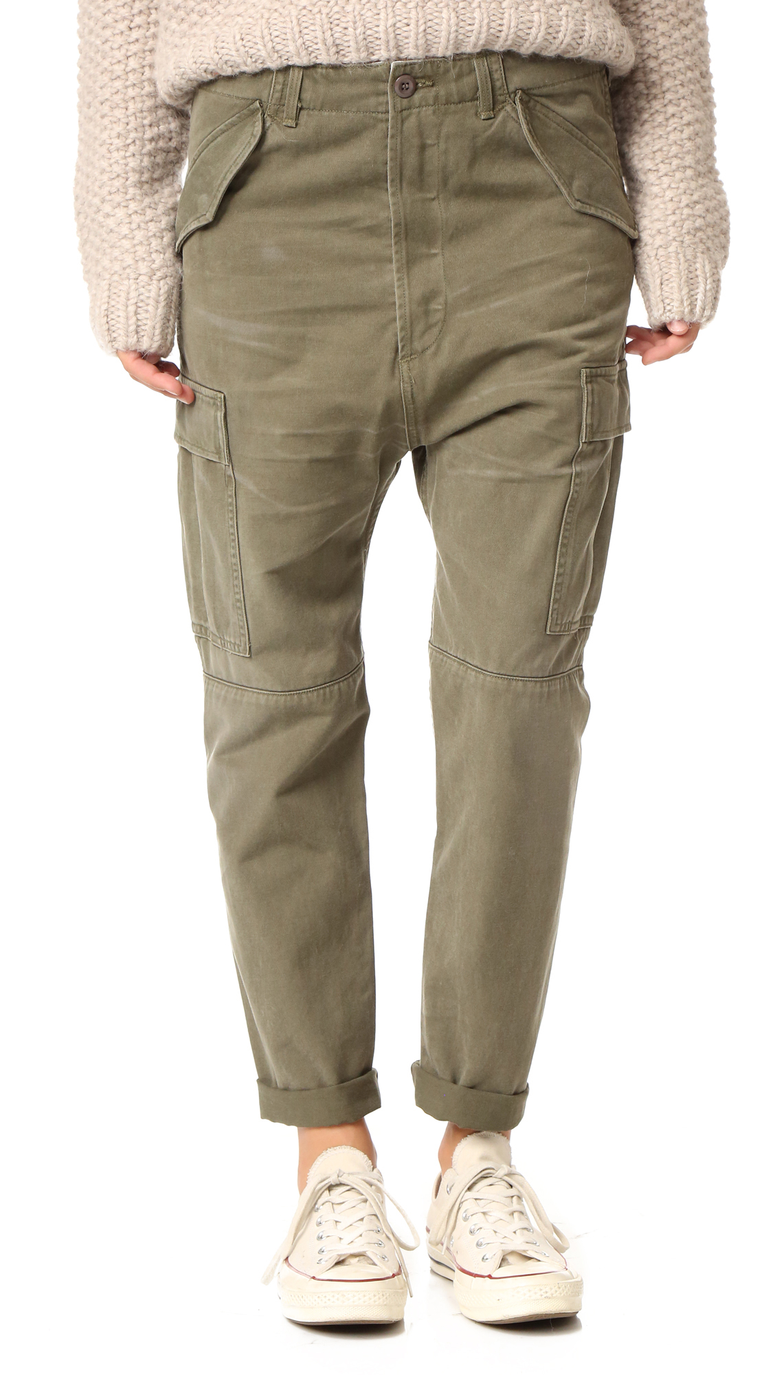 Citizens Of Humanity Ronja Cargo Pants - Olive at Shopbop