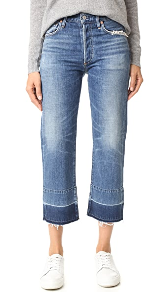 Citizens of Humanity Cora Crop Undone Hem Jeans