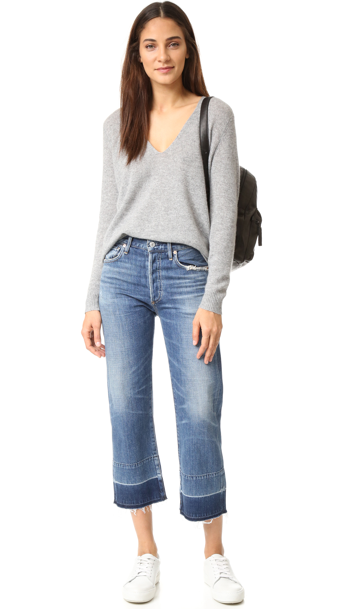Buy Cheap Clearance Purchase Sale Online Cora Crop Undone Hem in Fade Out Citizens Of Humanity Excellent Designer t0SMKCs