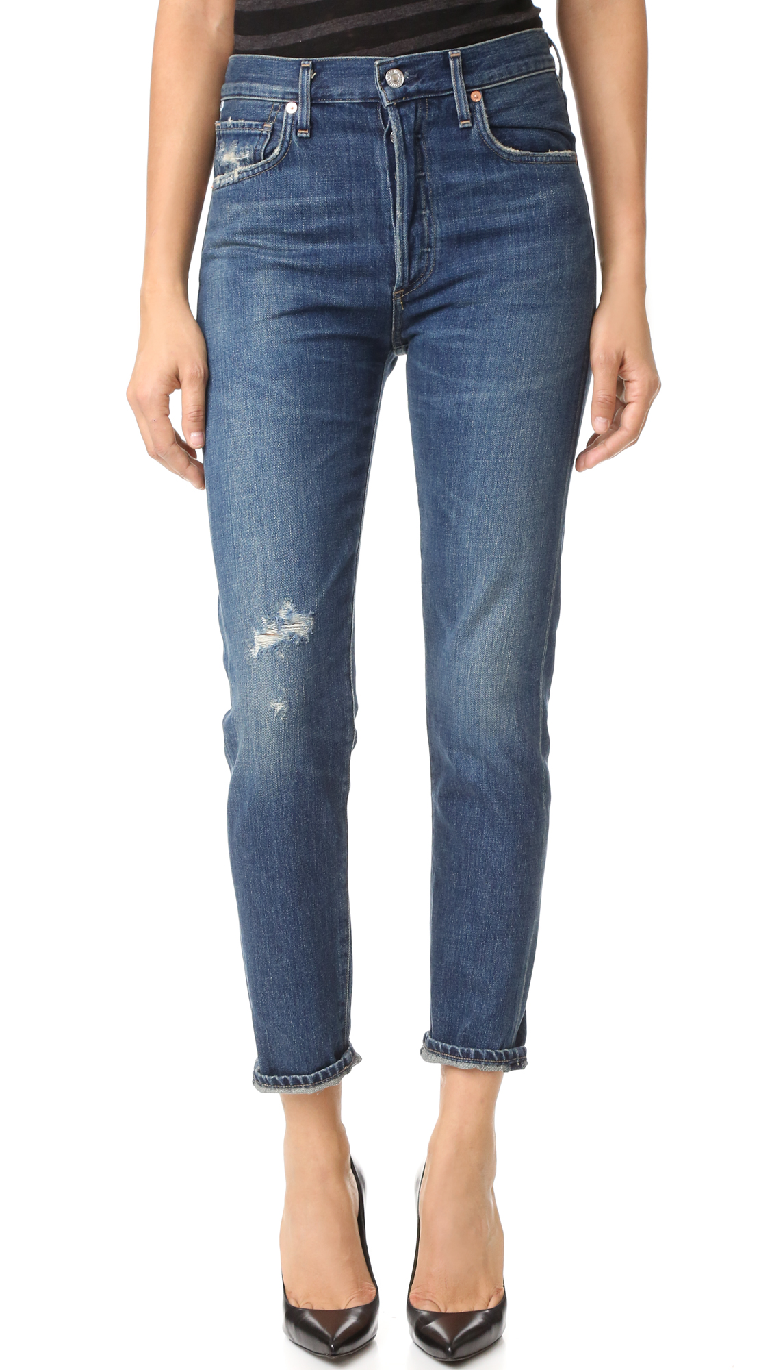 Citizens Of Humanity Liya High Rise Jeans - Wiltern at Shopbop