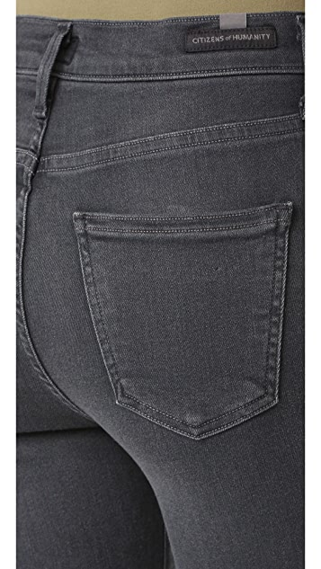 Citizens of Humanity High Rise Rocket Crop Skinny Jeans
