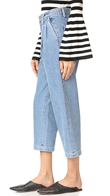 Citizens of Humanity Hailey Pleated Trouser Jeans