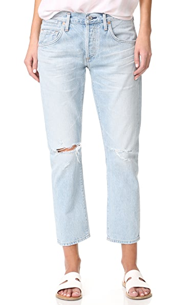 Citizens of Humanity Emerson Slim Fit Boyfriend Jeans - Rock On