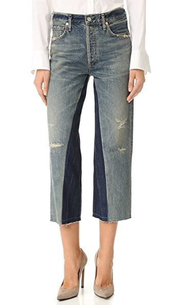 Citizens of Humanity Cora Crop Shadow Inseam Jeans - Livingston