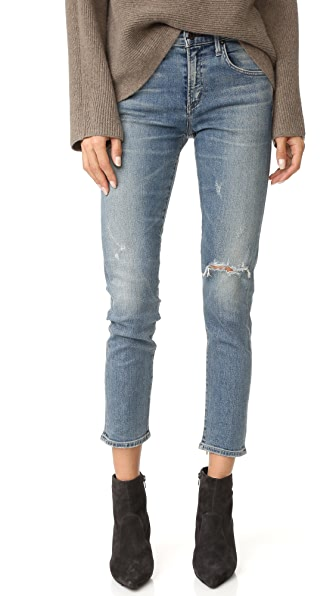 Citizens of Humanity The Principle Girlfriend Jeans with Shadow Pockets at Shopbop